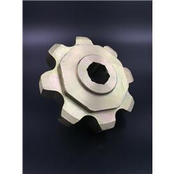 AgriculturalSprocket CA620 8T Yellow Zinc plated