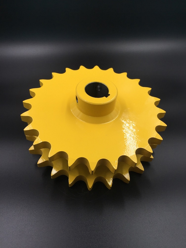 AgriculturalSprocket D80C 24H Yellow painted