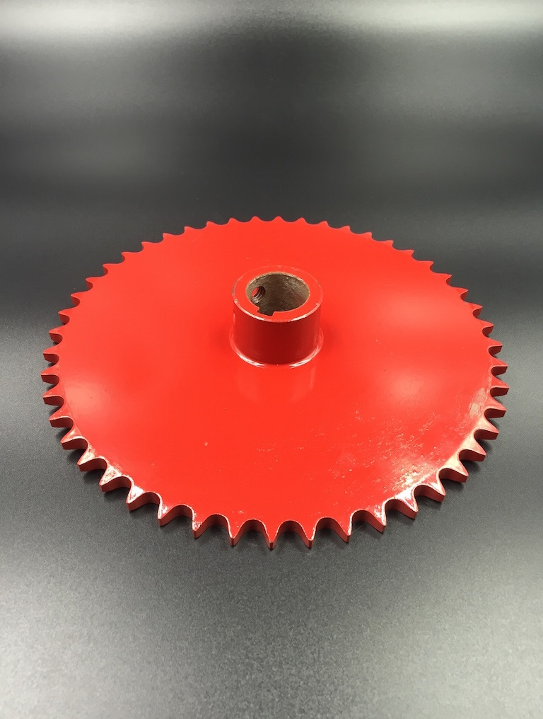 AgriculturalSprocket 40C48T Red Painted